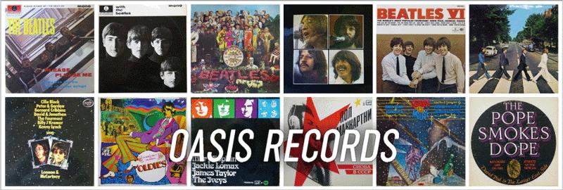 OASIS RECORDS / オアシスレコード|英国中古レコード