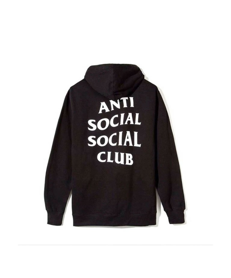 Anti Social Social Club  ORIGINAL LOGO HOODIE / BLK