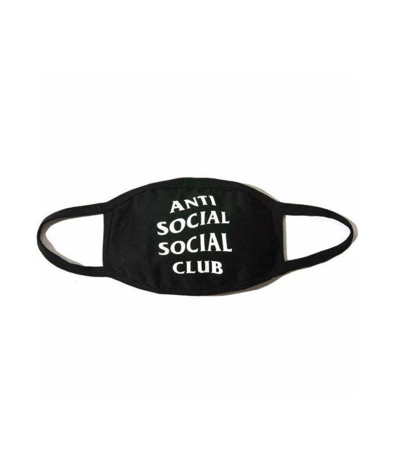 Anti Social Social Club  face mask / BLK