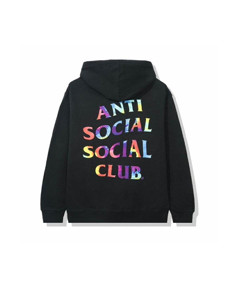 <img class='new_mark_img1' src='https://img.shop-pro.jp/img/new/icons50.gif' style='border:none;display:inline;margin:0px;padding:0px;width:auto;' />Anti Social Social Club  The Grove Black Hoodie / BLK