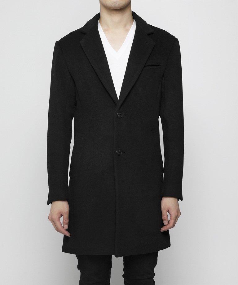 VANQUISH Narrow Wool Chester Coat