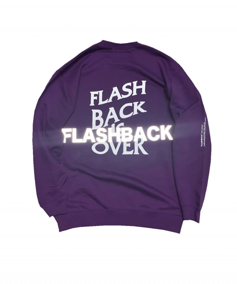 OVERSIZE FLASHBACK is OVER Reflector Sweat PUP