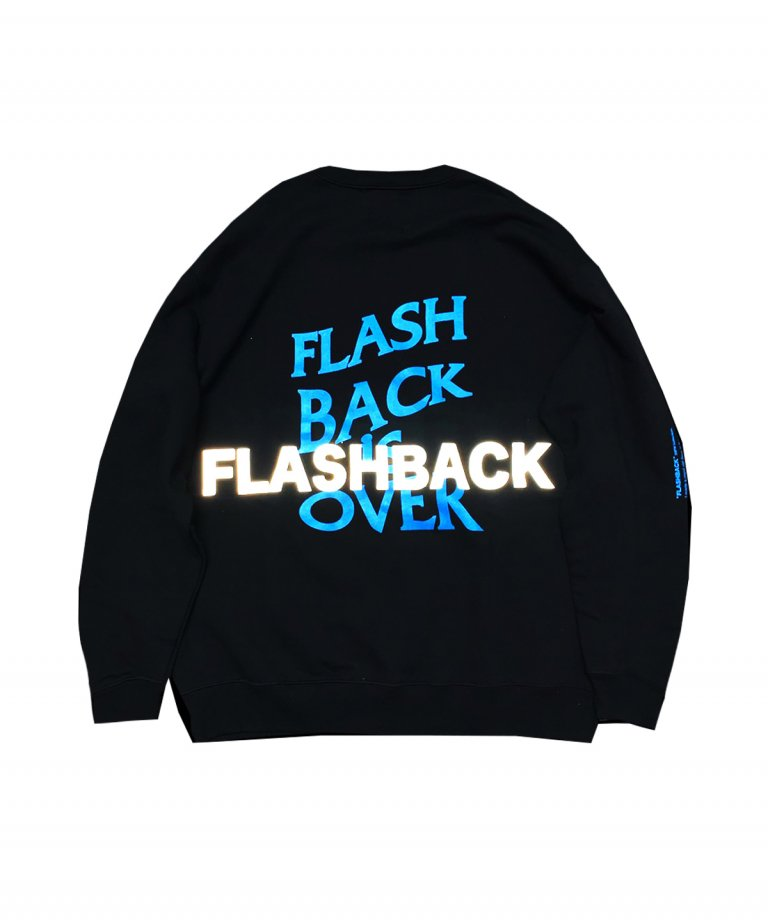 OVERSIZE FLASHBACK is OVER Reflector Sweat BLK×TAQ
