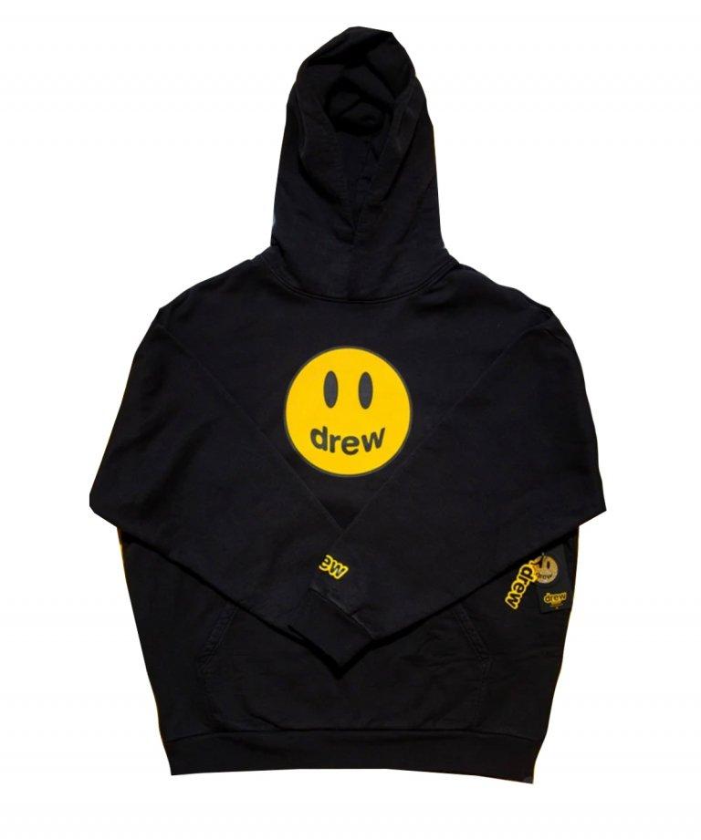 drew house ドリューハウス マスコット フーディー パーカー mascot hoodie - black
