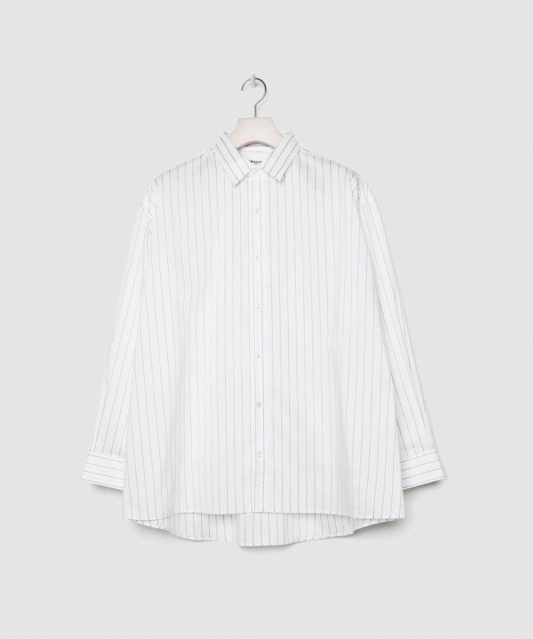 VANQUISH STRIPED BIG DRESS SHIRT