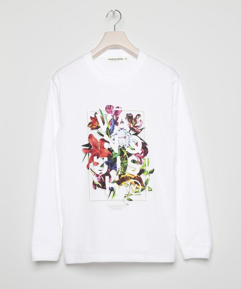 VANQUISH Floral Longsleeve T-shirt[VGC1288]