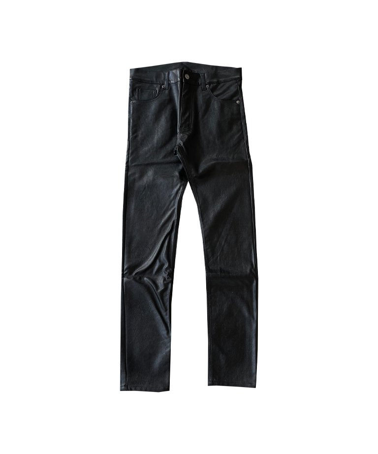 OUTRO-feer de seal- Fake Leather Skinny Pants