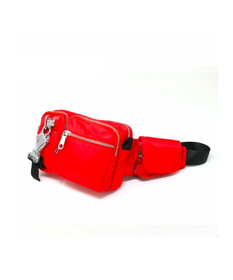 mnml CROSS BODY BAG RED