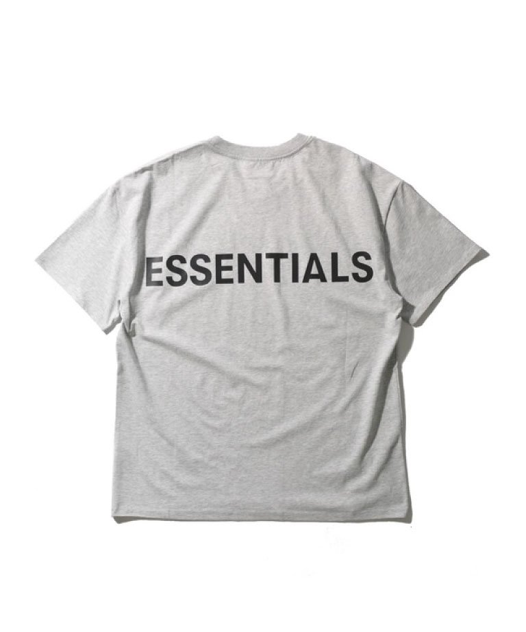 <img class='new_mark_img1' src='https://img.shop-pro.jp/img/new/icons5.gif' style='border:none;display:inline;margin:0px;padding:0px;width:auto;' />FOG ESSENTIALS リフレクターTシャツ - エッセンシャルズ FOG BACK LOGO TEE GRY