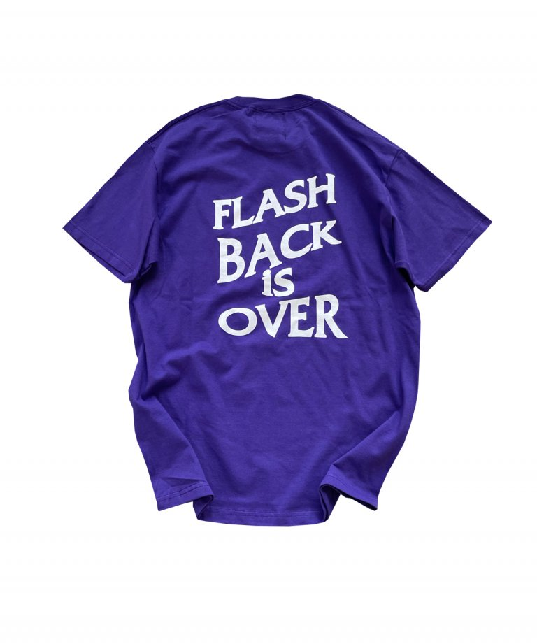 【FLASHBACK最新作】''FLASHBACK is OVER'' OVERSIZE  T-Shirts PUR