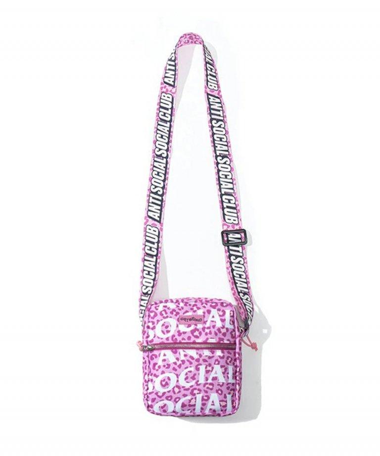 【GW限定20%OFF】Anti Social Social Club アンチソーシャルソーシャルクラブ Kitten Pink Side Bag ショルダー バッグ PINK