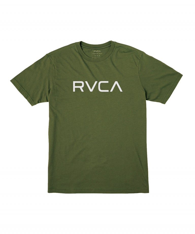 <img class='new_mark_img1' src='https://img.shop-pro.jp/img/new/icons5.gif' style='border:none;display:inline;margin:0px;padding:0px;width:auto;' />RVCA (ルーカ) RVCA BIG RVCA SS TEE MOSS