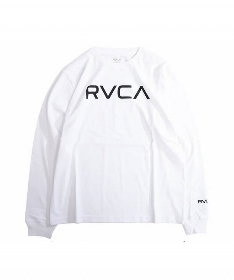 <img class='new_mark_img1' src='https://img.shop-pro.jp/img/new/icons5.gif' style='border:none;display:inline;margin:0px;padding:0px;width:auto;' />RVCA (ルーカ) RVCA BIG RVCA LS TEE WHT