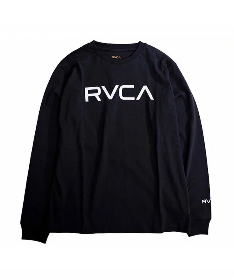 <img class='new_mark_img1' src='https://img.shop-pro.jp/img/new/icons5.gif' style='border:none;display:inline;margin:0px;padding:0px;width:auto;' />RVCA (ルーカ) RVCA BIG RVCA LS TEE BLK