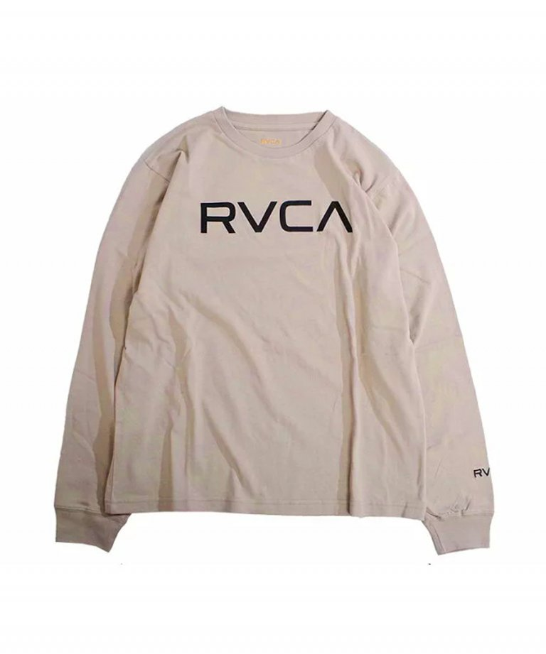 <img class='new_mark_img1' src='https://img.shop-pro.jp/img/new/icons5.gif' style='border:none;display:inline;margin:0px;padding:0px;width:auto;' />RVCA (ルーカ) RVCA BIG RVCA LS TEE BEG