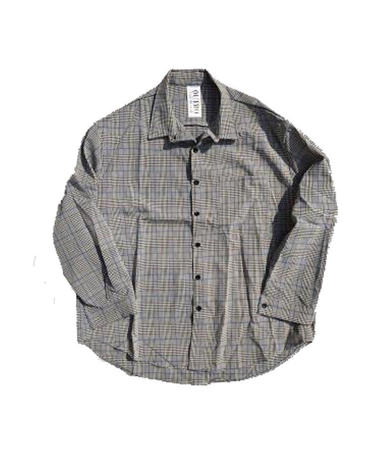 OUTRO-feer de seal- Glenn Check Dormant Shirt