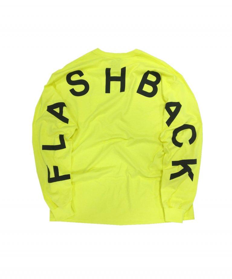 【FLASHBACK21SS最新作】Champion Arch Logo Long Sleeve Tee NEON YEL