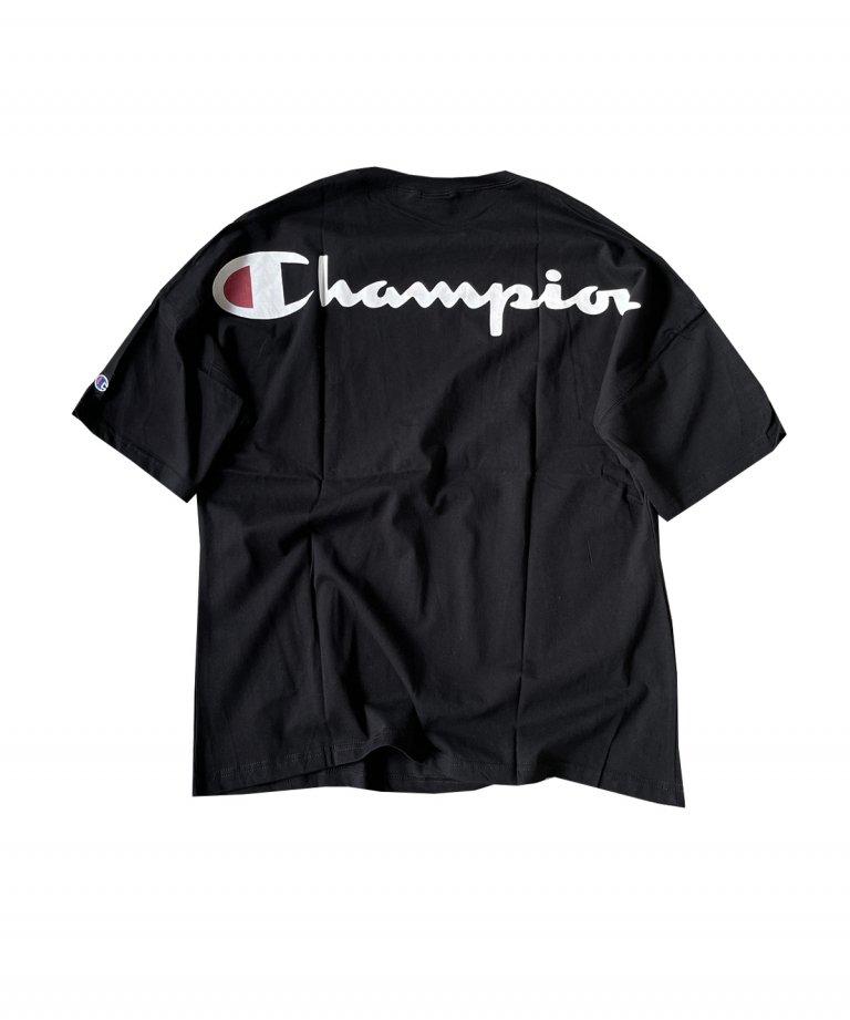 CHAMPION Arch Logo Tee BLK