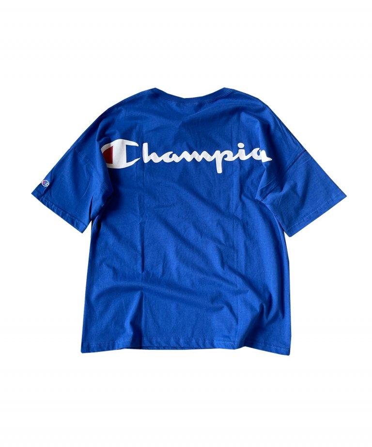 CHAMPION Arch Logo Tee BLU