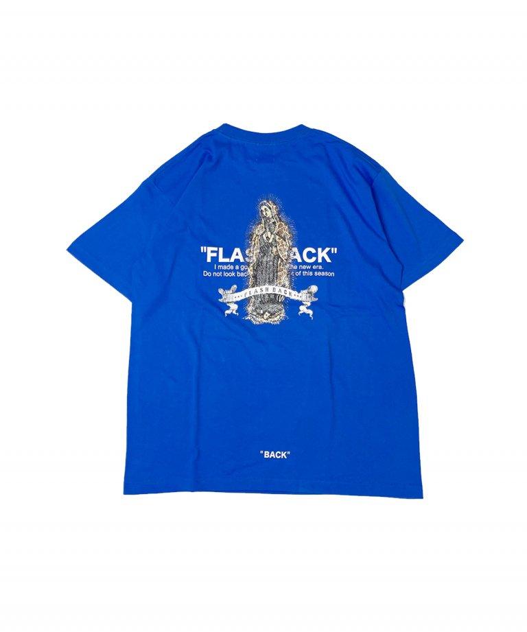 【FLASHBACK】2021ver ZelfMaria OVERSIZE T-Shirts.BLU