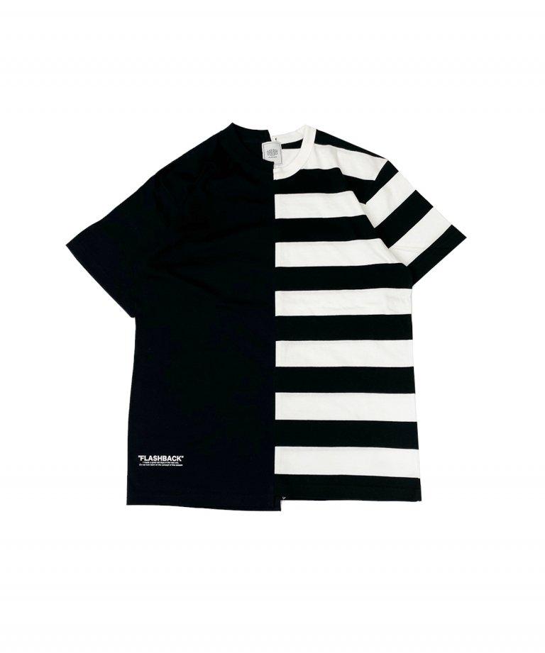 【FLASHBACK】Boder×BLACK Docking T-Shirts.BLK