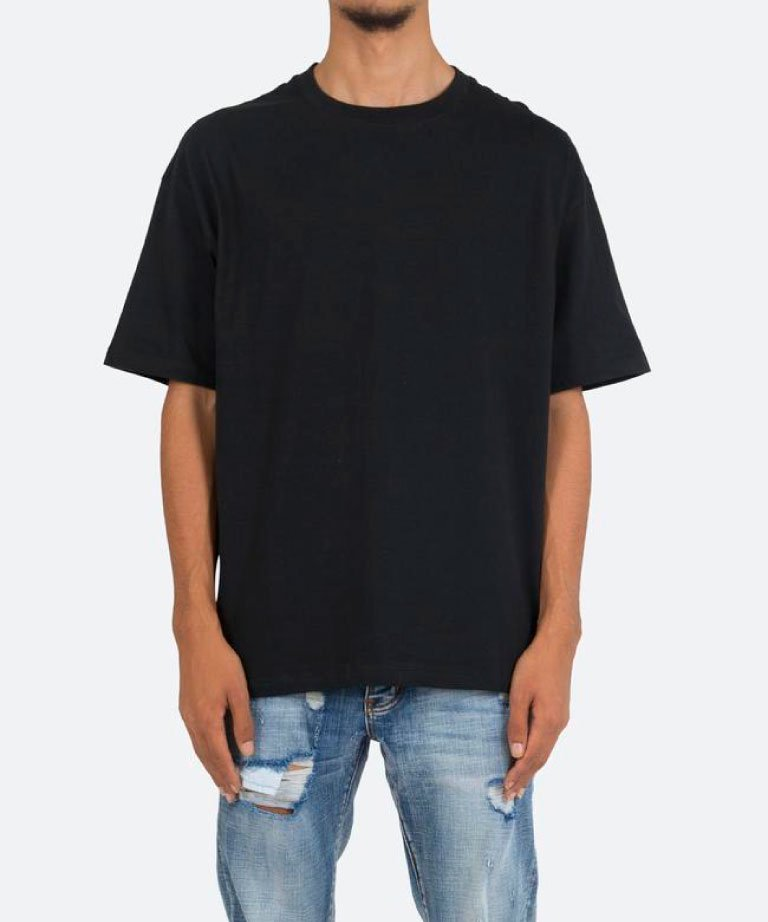 mnml EVERY DAY TEE 2 BLK