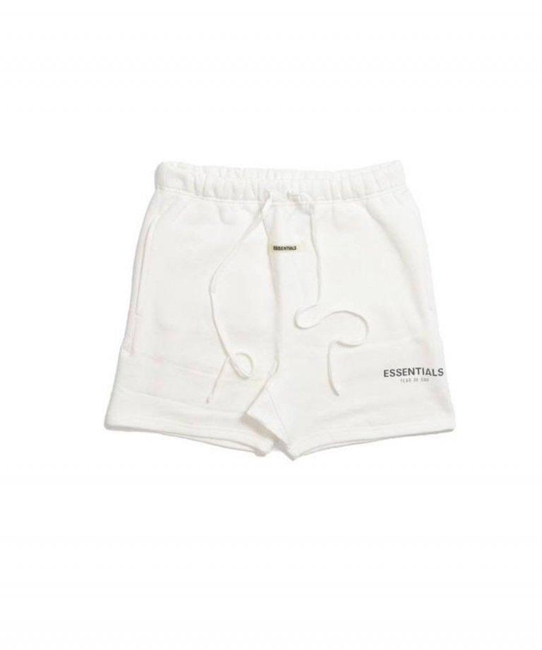 FOG ESSENTIALS Reflector Sweat Shorts リフレクタースウェットショートパンツ WHT