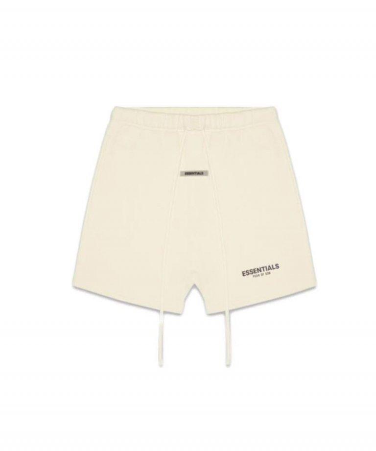 FOG ESSENTIALS Reflector Sweat Shorts リフレクタースウェットショートパンツ CREAM