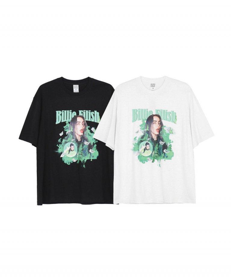 【USA Select】 Billie Eilish OVERSIZE T-Shirts.