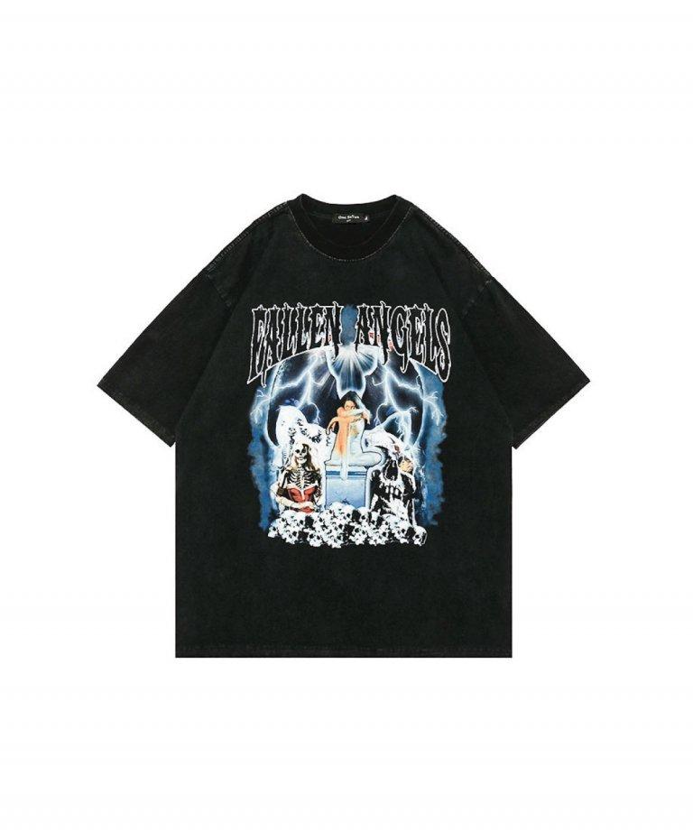 【USA Select】Fallen Angels  OVERSIZE Vintage T-Shirts.
