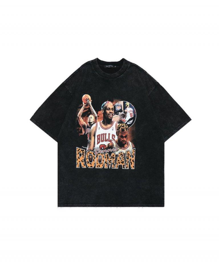 【USA Select】Dennis RODMAN OVERSIZE Vintage T-Shirts.