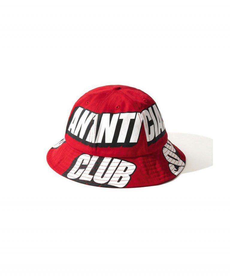 Anti Social Social Club  バケットハット Interest Los RED Bucket Cap