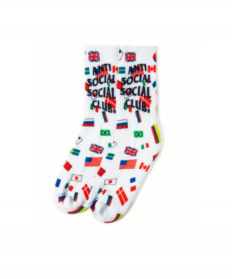 Anti Social Social Club  Business White Socks