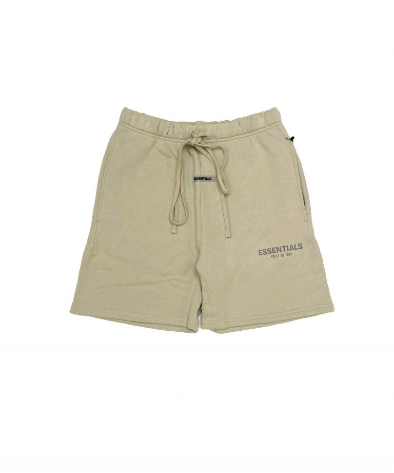 FOG ESSENTIALS Reflector Sweat Shorts リフレクタースウェットショートパンツ TAN
