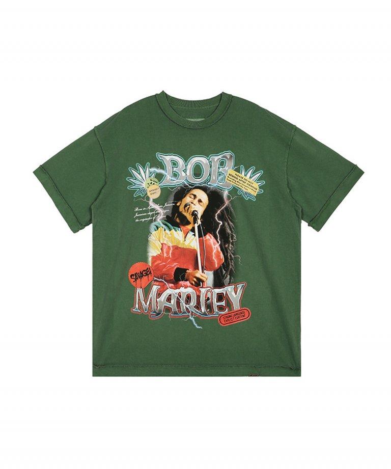 【USA Select】 Bob Marley OVERSIZE Vintage T-Shirts.