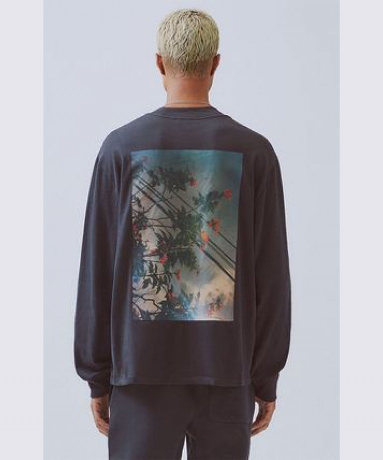 FOG ESSENTIALS ボクシーフォトロングTシャツ Boxy Photo Long Sleeve T-shirts BLK