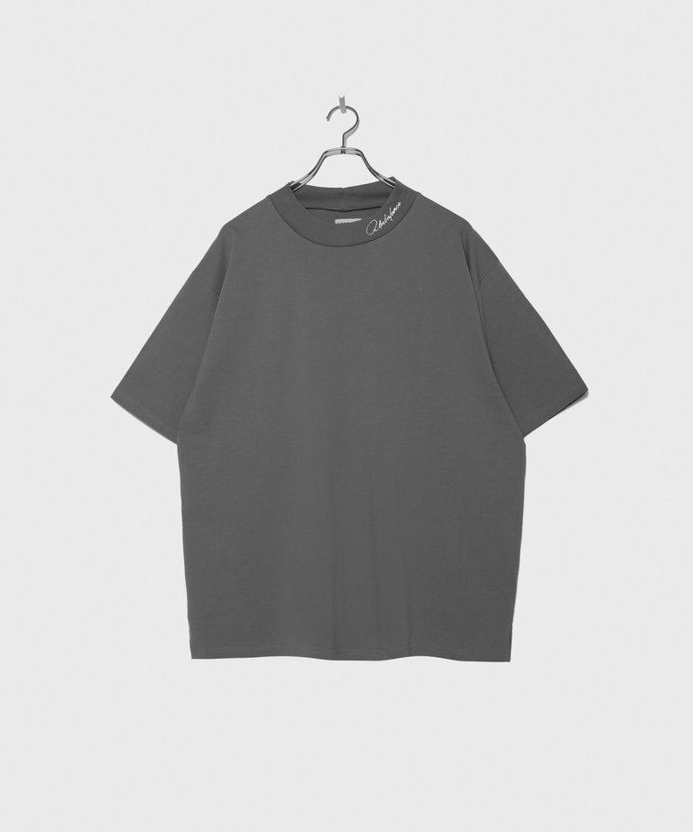 LEGENDA Faded Color Mock Neck T-shirt