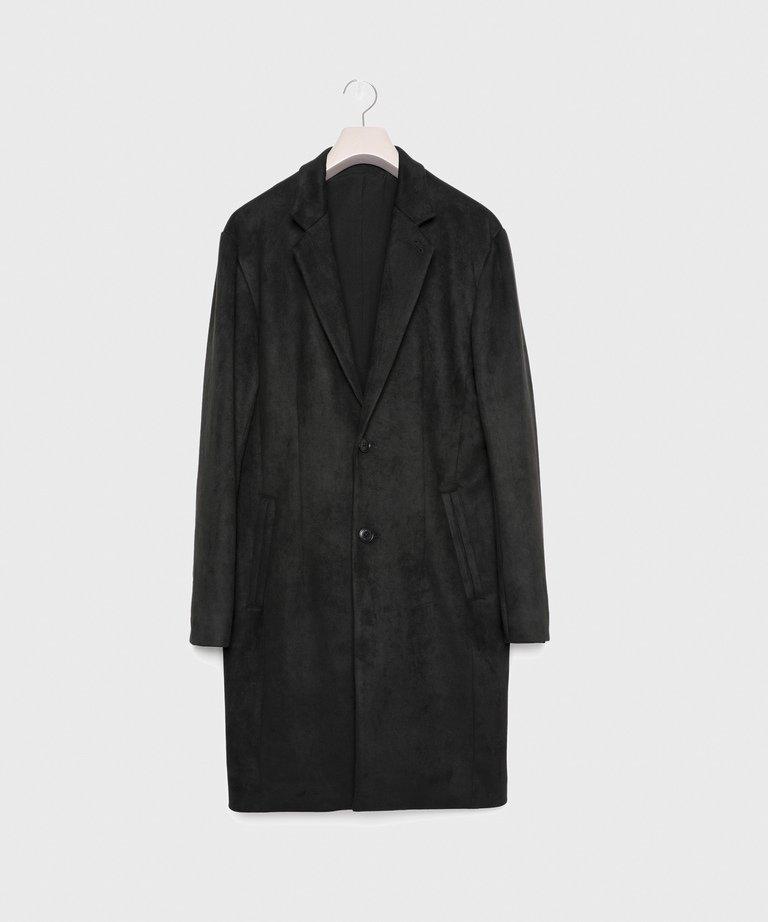 VANQUISH Like Suede Slim silhouette Chester Coat[VJJ066]