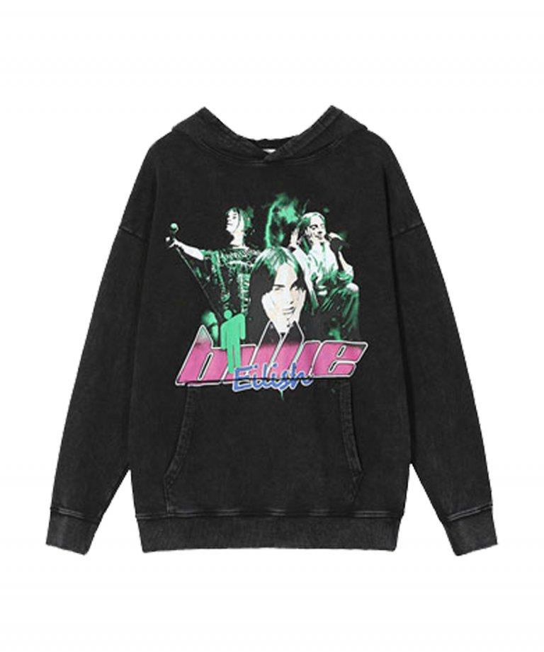 【USA Select】 Billie Eilish OVERSIZE Vintage Hoodie.