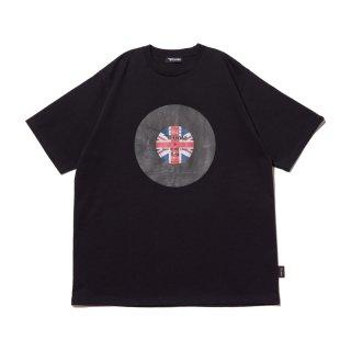 レコードレーベルプリント Tシャツ