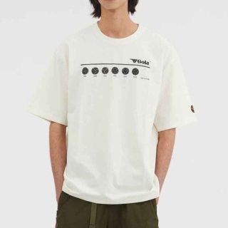 サッカーボールプリント Tシャツ