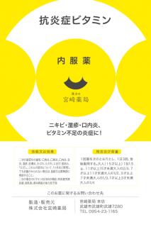 ニキビ・湿疹・口内炎に即効 抗炎症ビタミン(45包)