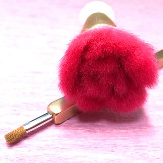 化粧筆 QUON  「薔薇」(パウダー&チークブラシ、リップブラシセット)の商品画像