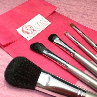 化粧筆 QUON  「真珠」(5本セット)の商品画像