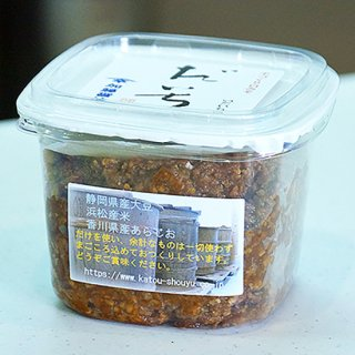手づくり白味噌[だいち]蔵出しみそ 無添加 400g / 加藤醤油の商品画像