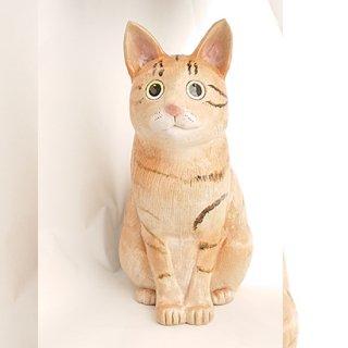 「猫と花火」陶照明/陶あかり工房の商品画像
