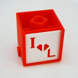 ILキューブ(キューブ型文具ホルダー) 1個/Industry Loveの商品画像