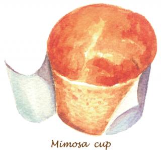 ミモザカップ