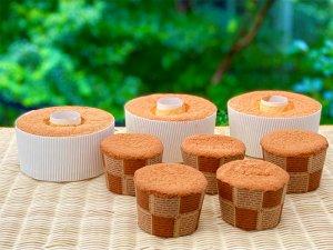 【グルテンフリー】 米粉のシフォンケーキ8個セット