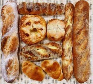ハード系パンの詰め合わせ